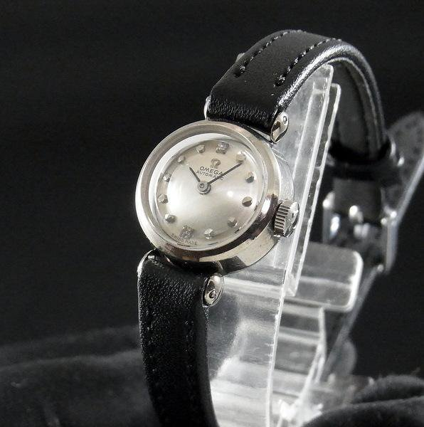 オメガ - Antique OMEGA-   1966年 アンティーク オメガ K14WG 自動 CAL661 レディース 希少【OH済】