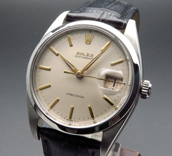 1960年 〜 1969年   1961年 ロレックス アンティーク ref6694 オイスターデイト cal1210 手巻【OH済】