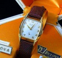 売り切れ1959年 デッドストック ブローバ BULOVA アンティーク 手巻 腕時計 【店舗改装中・特別セール商品】の商品画像