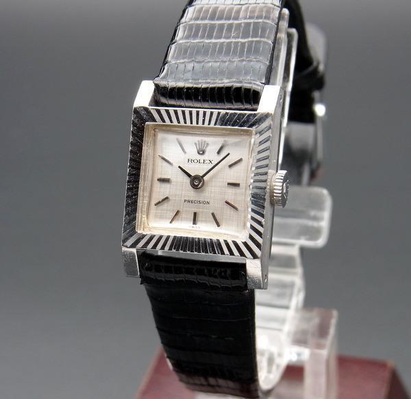 ロレックス - Antique Rolex -   売り切れ 1970年 K18WG ロレックス アンティーク ref2157 プレジション 手巻 レディース【OH済】