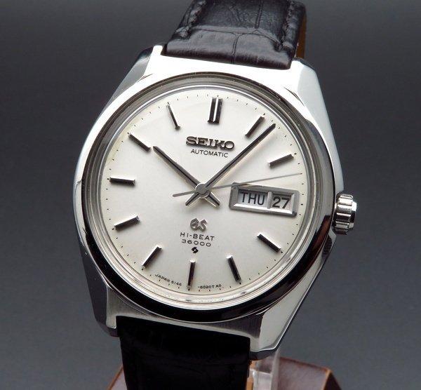 セイコー -Antique seiko -    売切れ1969年 グランドセイコー アンティーク 6146-8000 デイデイト 【OH済】