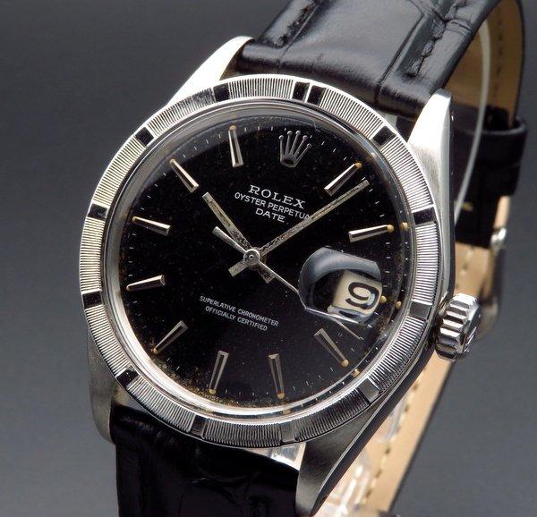 1960年 〜 1969年   1968年 アンティーク ロレックス SS オイスターパーペチュアルデイト ref1501 エンジンターンド【OH済】