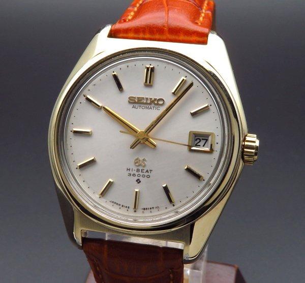 セイコー -Antique seiko -   完売 1968年 アンティーク グランドセイコー 6145-8000 ハイビート 36000 61GS ゴールドキャップ【OH済】