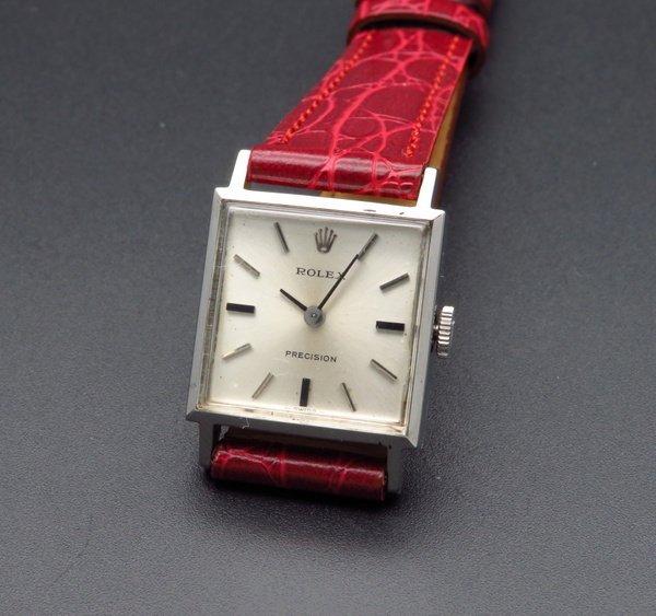 ロレックス - Antique Rolex -   完売 1966年 アンティーク ロレックス cal1400 プレジション 手巻 レディース【OH済】