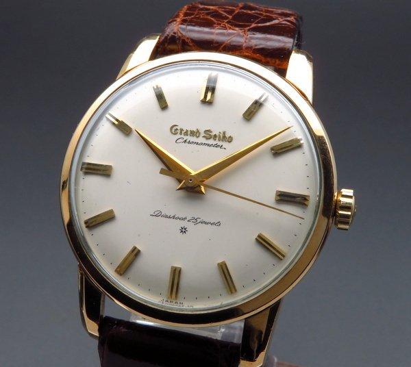 セイコー -Antique seiko -   商談中  1963年 アンティーク グランドセイコー ファースト J14070 手巻 14GF CAL3180希少 【OH済】
