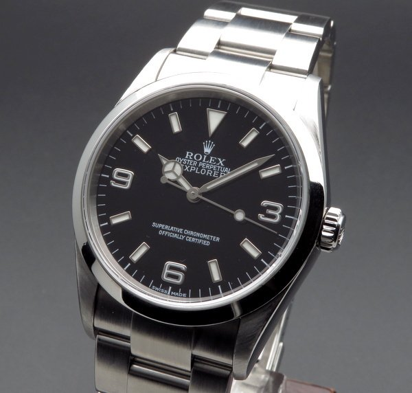 ロレックス - Antique Rolex -   売り切れ 2002年 ROLEX ロレックス エクスプローラー� 114270 Y番 中古・美品 ダブルロック【OH済】