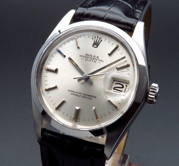 ロレックス - Antique Rolex -   完売 1970年 ロレックス SS オイスターパーペチュアルデイト ref1500 新品仕上【OH済】