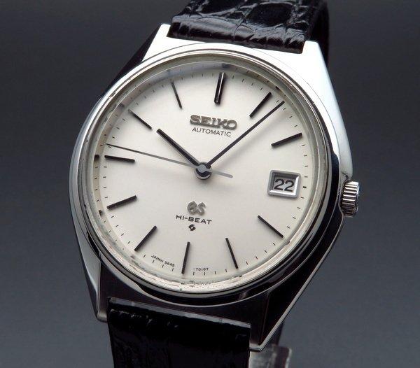 即納品  1970年製 アンティーク グランド セイコー 5645-7010 56GS ハイビート 【OH済】
