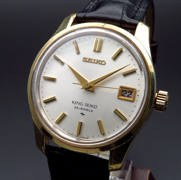 1960年 〜 1969年   1968年製 キング セイコー アンティーク 4402-8000 メダル付 手巻 44KS SGP【OH済】