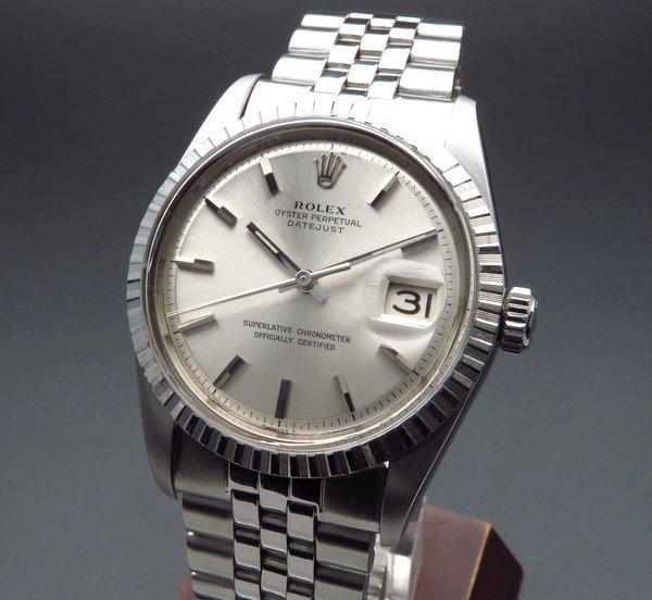 ロレックス - Antique Rolex -   1968年 ロレックス デイトジャスト 1603 アンティーク 出べそバックル cal1570【OH済】