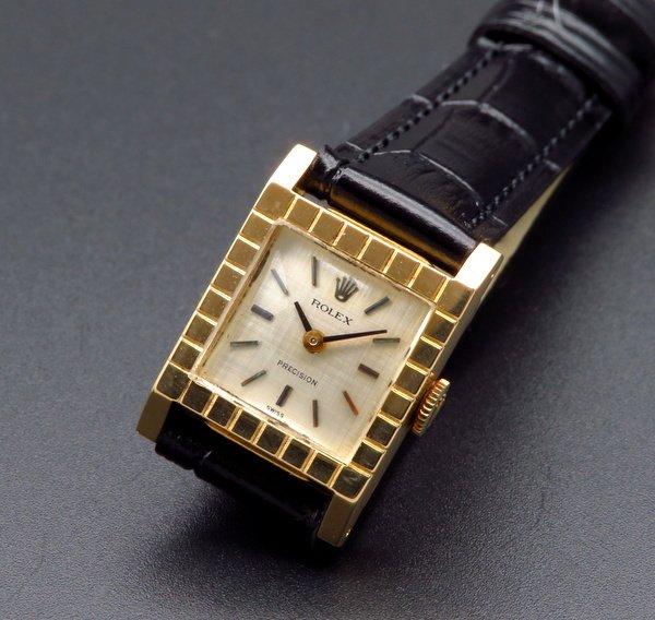 ロレックス - Antique Rolex -   売り切れ 1964年 K18 金無垢 アンティーク ロレックス K18YG 手巻き 希少【OH済】