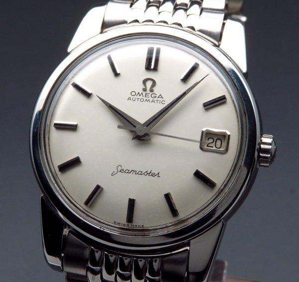 即納品   売り切れ 1962年 アンティーク オメガ シーマスター [日付] CAL562 オメガブレス【OH済】