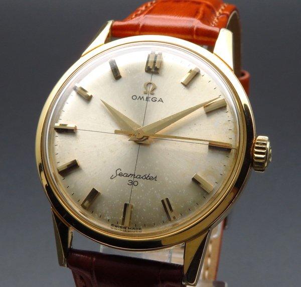 即納品  1962年オメガ アンティーク cal286 シーマスター 30 キャリバー 手巻 クロス【OH済】