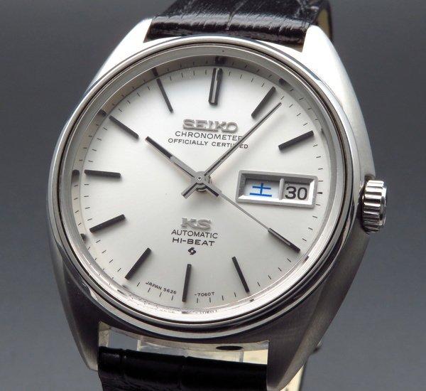 セイコー - Antique Seiko -   売り切れ 1972年製アンティーク キング セイコー 5626-7060 56KS デイデイト クロノメーター付【OH済】
