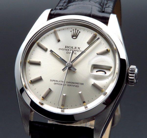 ロレックス - Antique Rolex -    売り切れ 1969年 ロレックス SS オイスター パーペチュアル デイト ref1500 新品仕上【OH済】