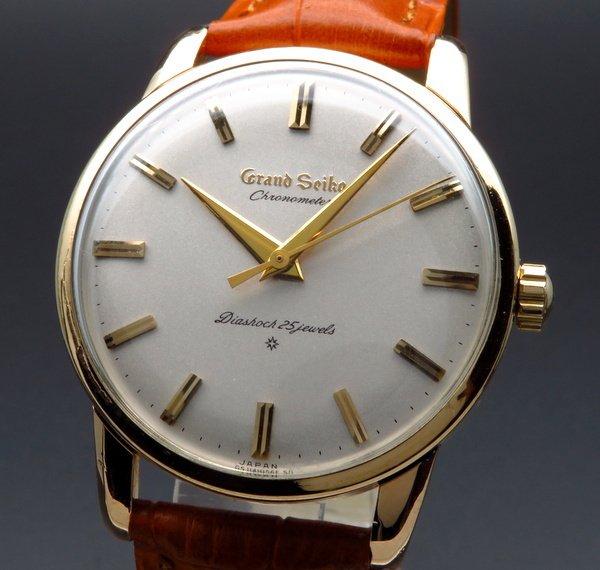 セイコー - Antique Seiko -   完売 1963年 アンティーク グランドセイコー ファースト J14070 手巻 14GF CAL3180希少【OH済】
