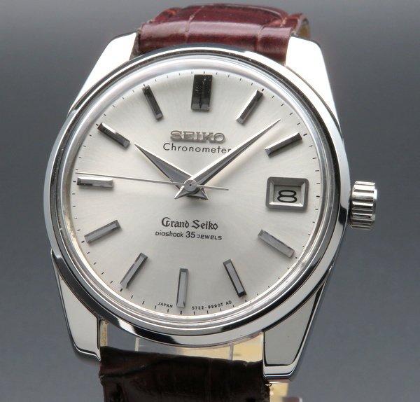 セイコー - Antique Seiko -   完売 1965年製 グランドセイコー 43999 アンティーク・獅子メダル・希少 クロノメーター【OH済】