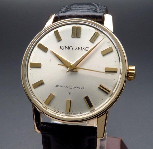 即納品  1963年 アンティーク キングセイコー ファースト 14GF 手巻き 廃盤 J14102 KS【OH済】