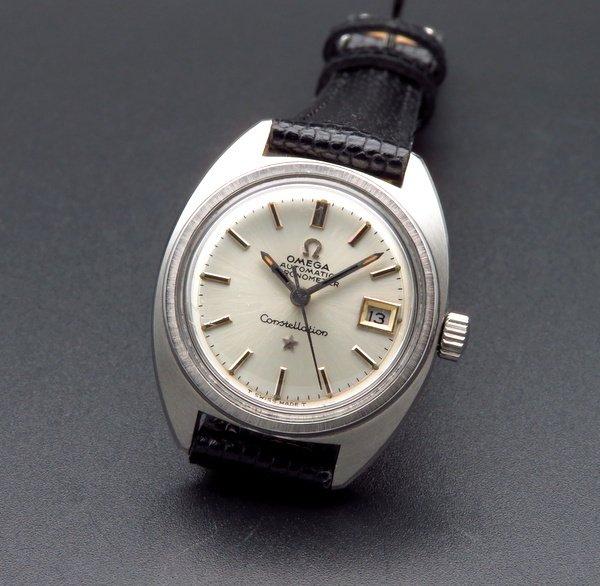 即納品   1969年 アンティーク オメガ コンステ CAL682 オメガ 自動巻 レディース【OH済】