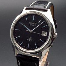 1970年製 アンティーク グランド セイコー 5645-7010 56GS ハイビート ブラック【OH済】