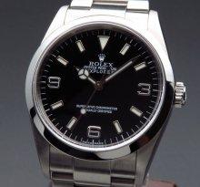 2001年 ROLEX ロレックス エクスプローラー� 114270 K番 中古・美品 ダブルロック【OH済】