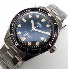 完売 【新品】オリス ダイバーズ65 733 7720 4055M レトロ 自動巻 1904年創業 機械式時計の商品画像