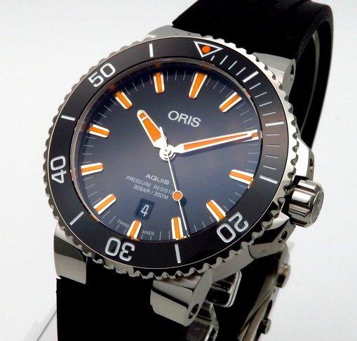 その他ブランド - other Brand -   完売 ■オリス アクイス デイト 733-7730-4159R 300m防水【新品】 メンズ 腕時計 ■