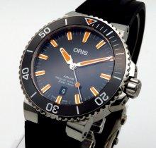 完売 ■オリス アクイス デイト 733-7730-4159R 300m防水【新品】 メンズ 腕時計 ■の商品画像