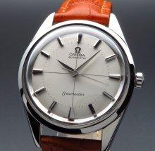 1958年 オメガ アンティーク CAL501 クロスライン ノンデイト  新品仕上【OH済】
