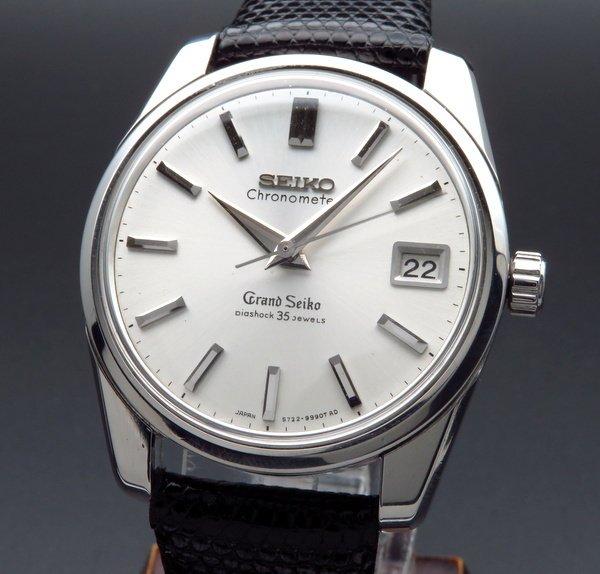 セイコー - Antique Seiko -    1965年製 グランドセイコー 5722-9990 アンティーク GS57・獅子メダル・クロノメーター表記・希少【OH済】
