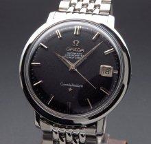 1960年製 アンティーク オメガ コンステ Cal.561 ブラック ライスブレス【OH済】
