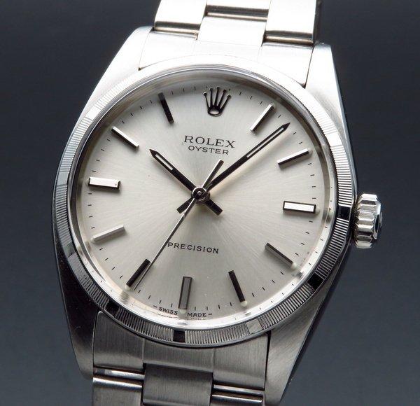 ロレックス - Antique Rolex -   1977年 アンティーク ロレックス オイスター ref6427 プレジション ノンデイト 手巻【OH済】