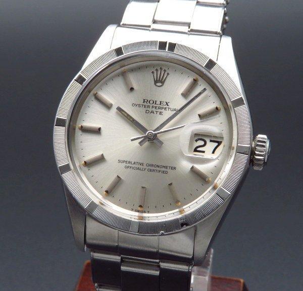 ロレックス - Antique Rolex -   売り切れ 1970年 アンティーク ロレックス SS オイスターパーペチュアルデイト ref1501 エンジンターンド リベットブレス【OH済】