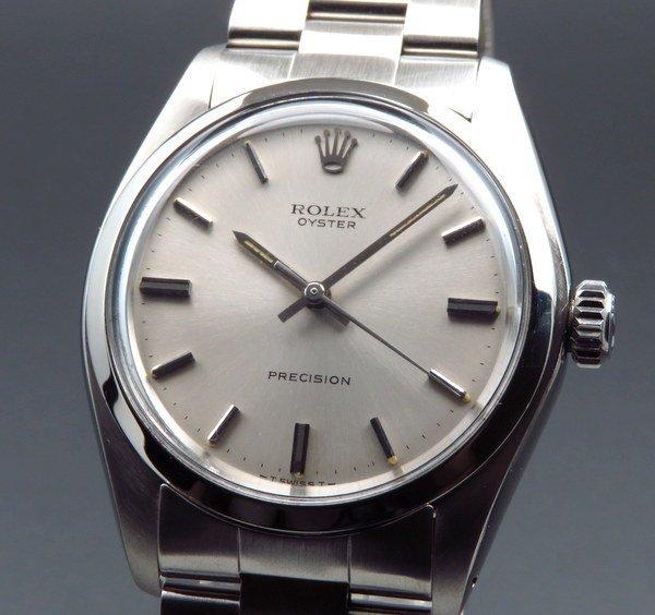 ロレックス - Antique Rolex -   1972年 アンティーク ロレックス オイスター ref6426 プレジション ノンデイト 手巻【OH済】