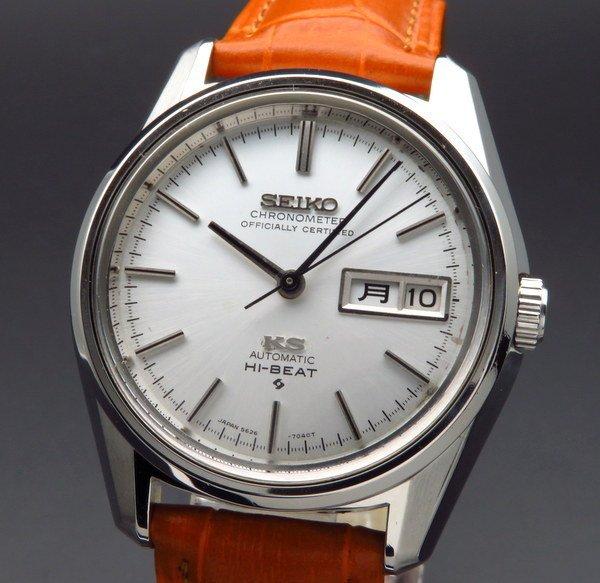 セイコー - Antique Seiko -    1969年製 キング セイコー アンティーク 5626-7040 デイデイト 56KS クロノメーター 廃盤モデル【OH済】