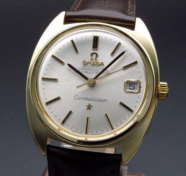 1960年 〜 1969年    1969年 オメガ アンティーク コンステレーション Cal.564 Cライン ゴールドキャップ【OH済】