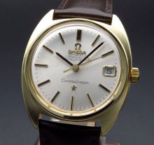 1969年 オメガ アンティーク コンステレーション Cal.564 Cライン ゴールドキャップ【OH済】