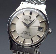 1973年 12角 アンティーク オメガ コンステ cal1011 クロノメーター オメガブレス 自動 美品【OH済】
