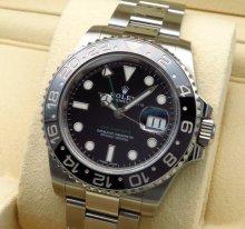 【日本国内正規品】ロレックス ROLEX GMTマスター2 116710LN メンズ腕時計 ステンレス【中古】A品