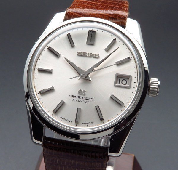 セイコー - Antique Seiko -    1967年製 グランドセイコー 5722-9991 アンティーク GS57 手巻き ヴィンテージ【OH済】