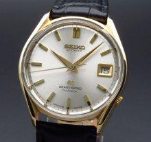 1967年製 希少 レア グランドセイコー 6245-9001 アンティーク GS62 日付 ゴールドキャップ【OH済】