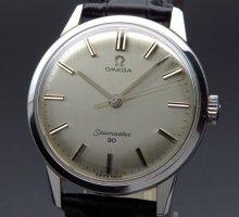 1963年 オメガ アンティーク cal286 シーマスター 30 手巻 ヴィンテージ【OH済】