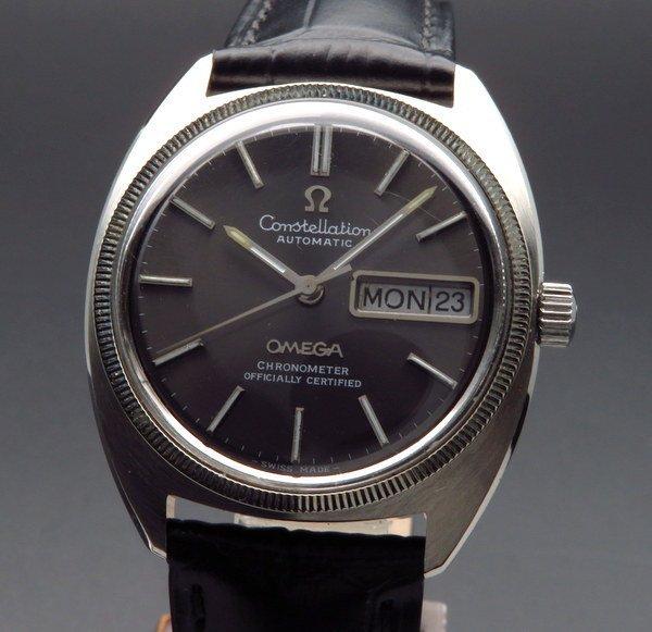 オメガ - Antique Omega -   1970年オメガ アンティーク コンステレーション デイデイト cal751 WGコイン クロノメーター【OH済】