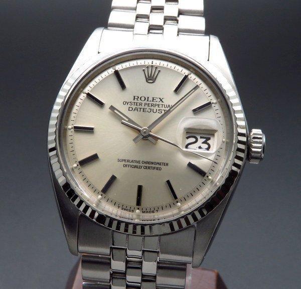 ロレックス - Antique Rolex -   1968年 アンティーク ロレックス デイトジャスト ref1601 WGベゼル cal1570 新品仕上【OH済】