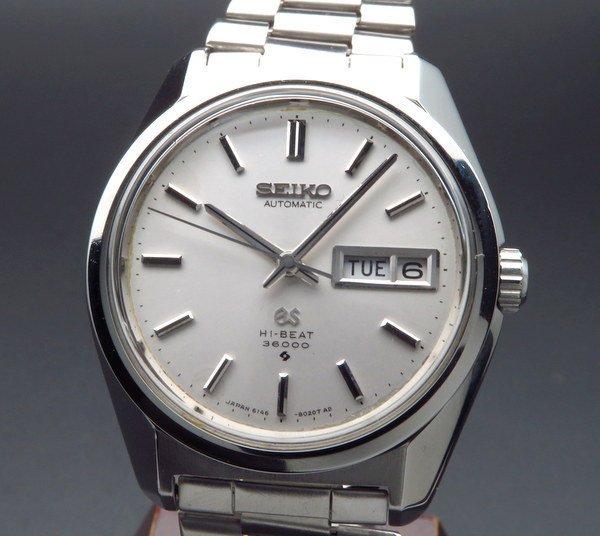 1969年 グランドセイコー アンティーク 6146-8000 デイデイト 61GS seikoブレス【OH済】
