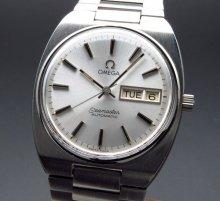 1981年 アンティーク オメガ シーマスター CAL.1020 デイデイト オメガブレス【OH済】