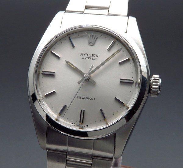 ロレックス - Antique Rolex -   完売  1972年 アンティーク ロレックス オイスター ref6426 プレジション ノンデイト 手巻 ヴィンテージ【OH済】