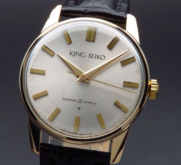 セイコー - Antique Seiko -   1963年 アンティーク キングセイコー ファースト 14GF 15034KS 手巻 廃盤 ヴィンテージ【OH済】