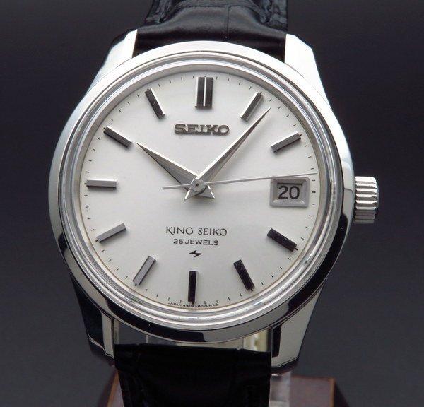 セイコー - Antique Seiko -   1968年製 キング セイコー アンティーク 4402-8000 メダル付 手巻 44KS 【OH済】