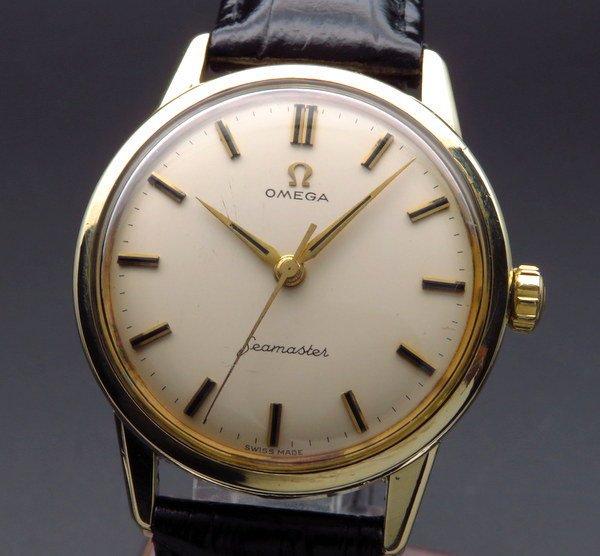 シーマスター  1961年オメガ アンティーク cal285 シーマスター 30 ゴールドキャップ 手巻 ヴィンテージ【OH済】